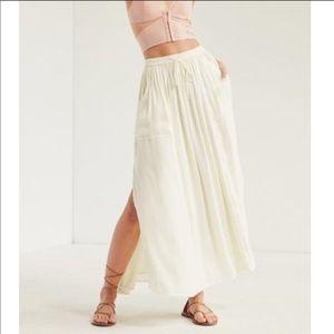 Silence & Noise White Skirt